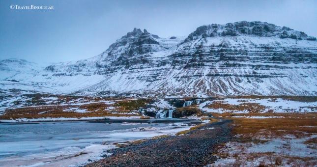 Snæfellsjökull waterfall